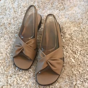 Gently used Life Stride sandals